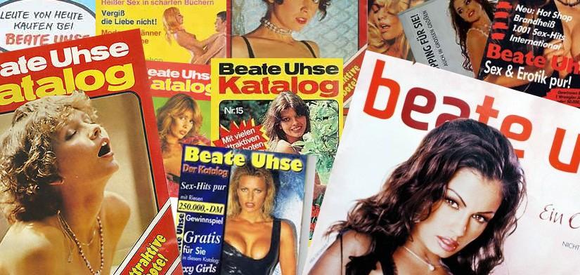 Kataloge der Firma Beate Uhse